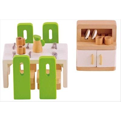Meubles maison poupée salle à manger HAPE