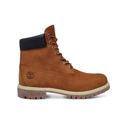 39d6f75bccf67 Boots cuir Af Gin Prem BT Rust Boots cuir Af Gin Prem BT Rust TIMBERLAND.  Soldes