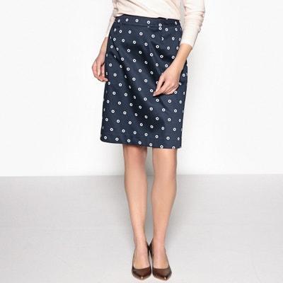 Floral Print Silk Style Skirt Floral Print Silk Style Skirt ANNE WEYBURN