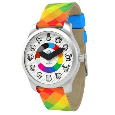 Montre enfants Animaux bracelet Arlequin TWISTITI