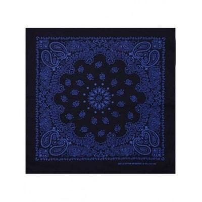 Bandana Noir Bleu Roi Paisley Masterdis 50x50 cm Foulard Bandana Noir Bleu  Roi Paisley Masterdis 50x50 48129744c41