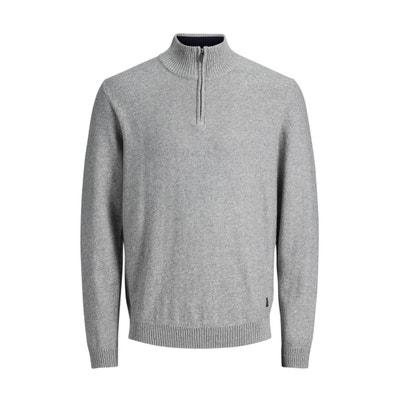 High Neck Fine Gauge Knit Jumper/Sweater High Neck Fine Gauge Knit Jumper/Sweater JACK & JONES
