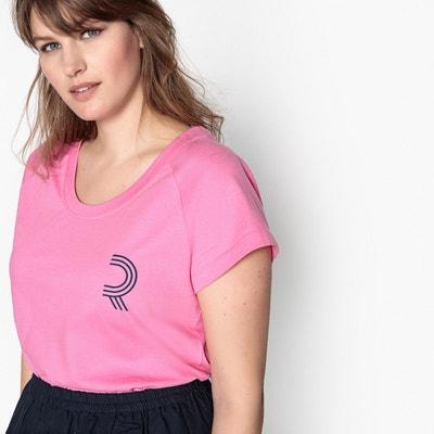 T-shirt logo, uni manches courtes T-shirt logo, uni manches courtes CASTALUNA