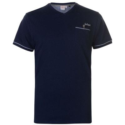 436c722a05e10 T-shirt avec col enV LEE COOPER