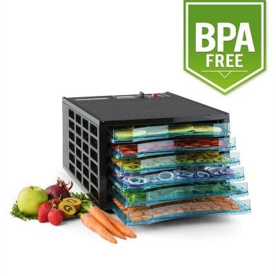 Klarstein Fruit Jerky 6 Déshydrateur alimentaire 630W 6 étages sans BPA KLARSTEIN
