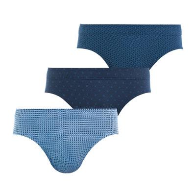 Slip coton imprimé (lot de 3) Slip coton imprimé (lot de 3) EMINENCE