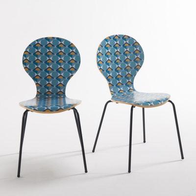 Confezione da 2 sedie fantasia, Barting Confezione da 2 sedie fantasia, Barting La Redoute Interieurs