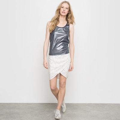 Falda estampada JESSY STAIN, con efecto drapeado Falda estampada JESSY STAIN, con efecto drapeado FREEMAN T. PORTER
