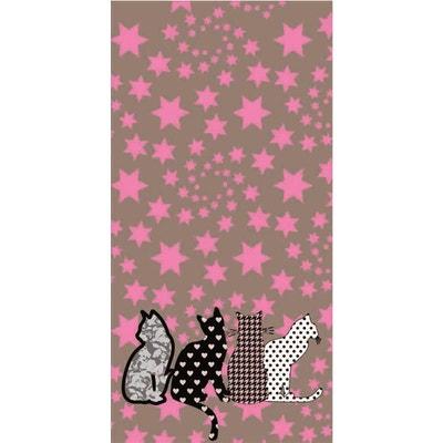 Papier peint intissé étoile et chat Papier peint intissé étoile et chat LE PAPIERS DE NINON