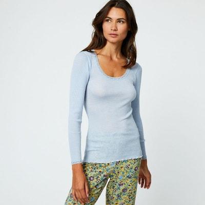 9ba76281a2438 Tshirt manches longues laine et soie Tshirt manches longues laine et soie  MONOPRIX