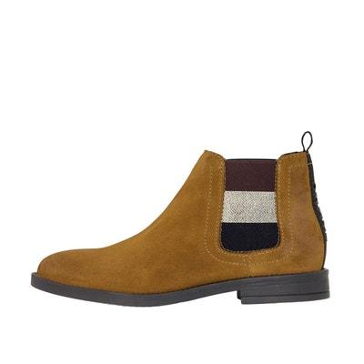 Boots cuir à talon Essential Boots cuir à talon Essential TOMMY HILFIGER 71fe1a17f357