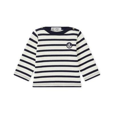 94fe9442fc0b2 Marinière bébé mixte en jersey lourd PETIT BATEAU