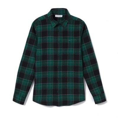 Camisa aos quadrados, 10-16 anos Camisa aos quadrados, 10-16 anos La Redoute Collections