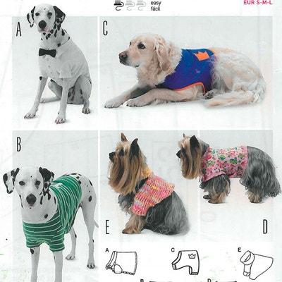 Patron manteau pour chien, Burda 6753 CAREFIL