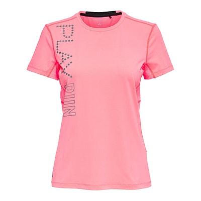 T-shirt con scollo rotondo, maniche corte T-shirt con scollo rotondo, maniche corte ONLY PLAY