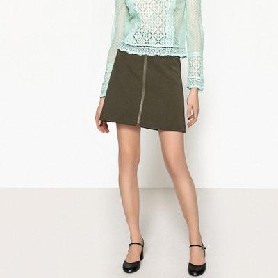 Short Back Zip Skirt La Redoute Collections