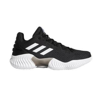 75834e3ca7a0d Chaussures basketball adidas Pro Bounce 2018 Low Noir Chaussures basketball  adidas Pro Bounce 2018 Low Noir