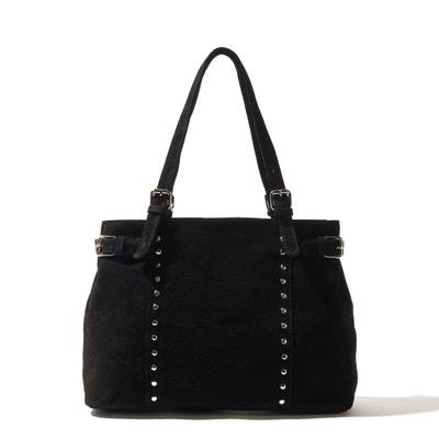 Leather Handbag La Redoute Collections