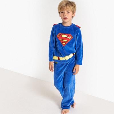 Pyjama velours avec cape 4 - 10 ans Pyjama velours avec cape 4 - 10 ans DC COMICS