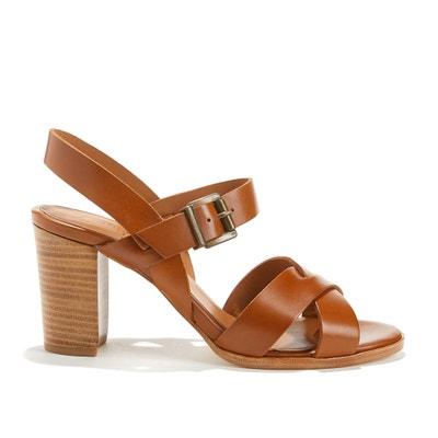 Sandales à brides en cuir vachette ALINE ANTHOLOGY PARIS