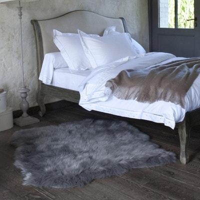tapis effet peau de mouton livio 110 x 130 cm tapis effet peau de mouton - Tapis Peau De Mouton