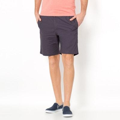 Cotton Bermuda Shorts with Elasticated Waist CASTALUNA FOR MEN