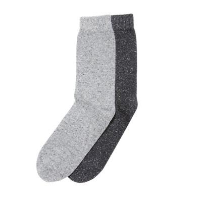 Confezione da 2 paia di calze in seta e lana Confezione da 2 paia di calze in seta e lana La Redoute Collections