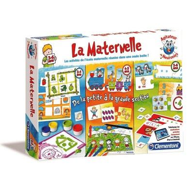 Kit de jeux éducatifs Agitateur de Neurones : La maternelle Kit de jeux éducatifs Agitateur de Neurones : La maternelle CLEMENTONI