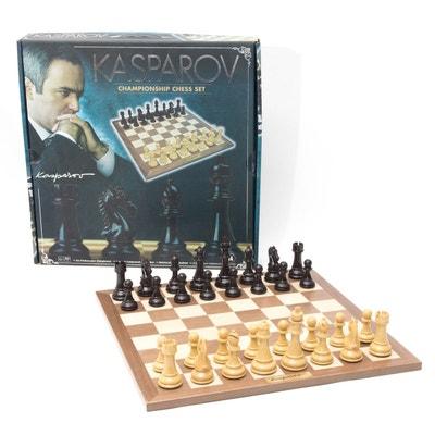 Jeu d'échecs pour championnat Kasparov FRANCE CARTES