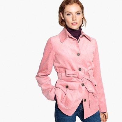 Cappotto in velluto, vita con cintura Cappotto in velluto, vita con cintura La Redoute Collections