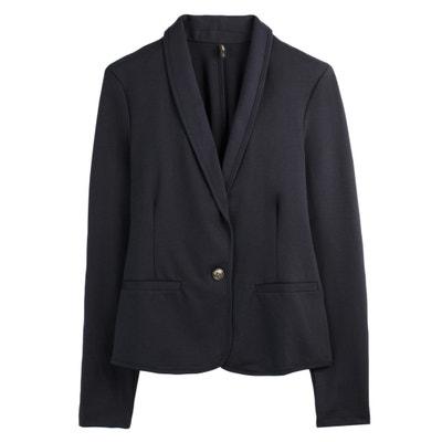 Kurze Jersey-Jacke im Blazer-Schnitt Kurze Jersey-Jacke im Blazer-Schnitt ONLY