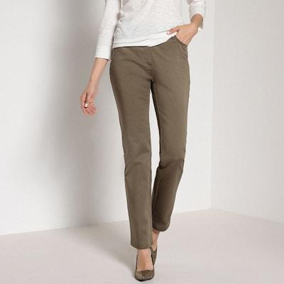Pantalon droit, taille descendue Pantalon droit, taille descendue ANNE  WEYBURN. Soldes 272d9db32cd7