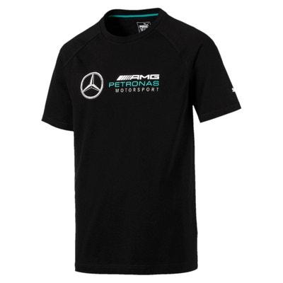 T-Shirt, runder Ausschnitt, unifarben Mercedes T-Shirt, runder Ausschnitt, unifarben Mercedes PUMA
