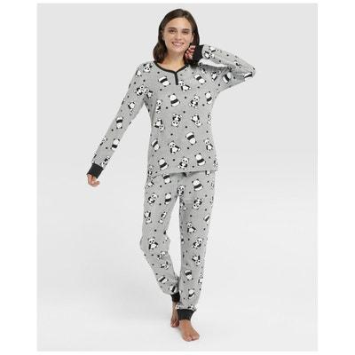 Pyjama pantalon Íntimo à imprimé pandas Pyjama pantalon Íntimo à imprimé pandas EASY WEAR