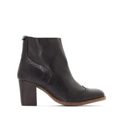 Boots cuir à talons Misty Boots cuir à talons Misty KICKERS