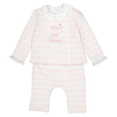 Ensemble bébé naissance préma - 12 mois Oeko Tex La Redoute Collections