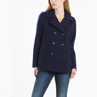 Lidia Wool Blend Pea Coat LEVI'S