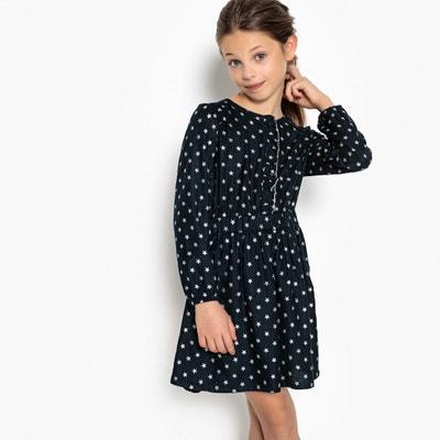 Bedrucktes Kleid mit funkelnden Sternen, 3-12 ans Bedrucktes Kleid mit funkelnden Sternen, 3-12 ans La Redoute Collections