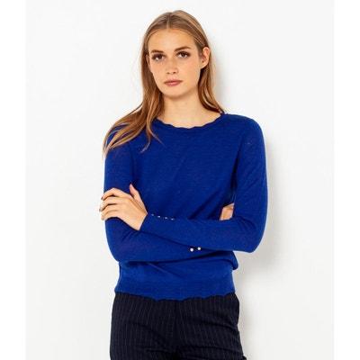 Solde Pull Femme En Redoute Marine Bleu La PrErI