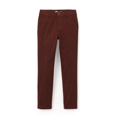 Pantalon chino 10-16 ans Pantalon chino 10-16 ans LA REDOUTE COLLECTIONS