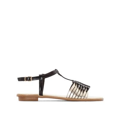 Golden Multi-Strap Sandals Golden Multi-Strap Sandals MADEMOISELLE R