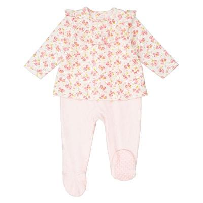 Pyjama 2 en 1 en velours 0 mois – 3 ans Pyjama 2 en 1 en velours 0 mois – 3 ans La Redoute Collections