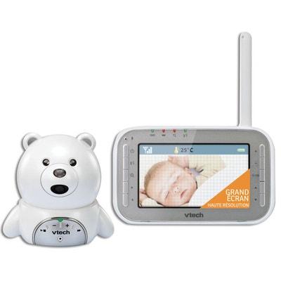 Babyphone vidéo XL Ourson BM4200 blanc VTECH