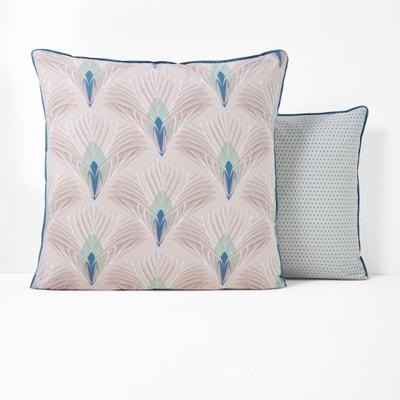 Pampelune Percale Pillowcase La Redoute Interieurs
