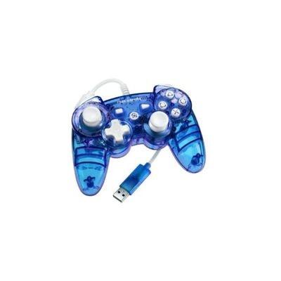 Manette sans fil PDP bleue Rock pour PS3 Manette sans fil PDP bleue Rock pour PS3 PDP