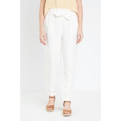 Pantalon beige femme en solde   La Redoute 18fd92b2f62f