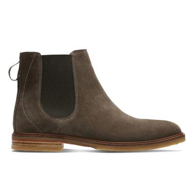 Boots pelle chelsea Clarkdale Gobi CLARKS