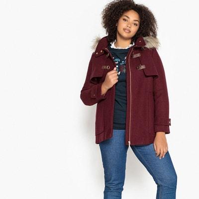 La rouge laine Manteau Redoute femme 4x6wPv