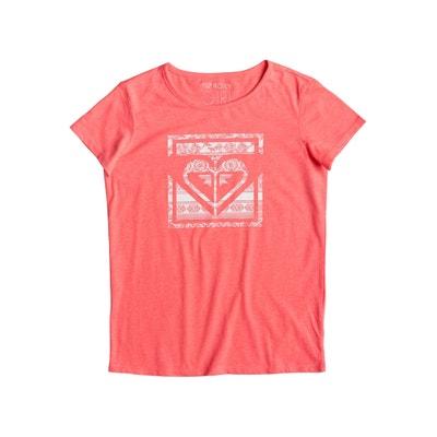 T-shirt met ronde hals en korte mouwen ROXY