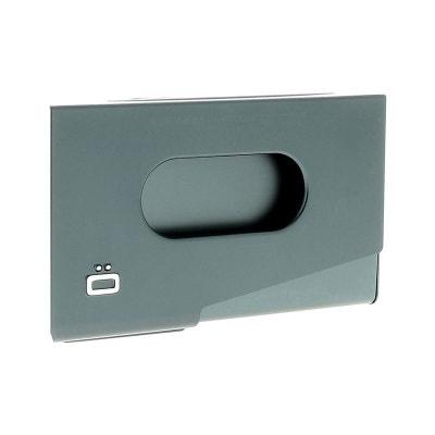 Porte Carte De Visite Alu Platinium Ogon Design One Touch Made In